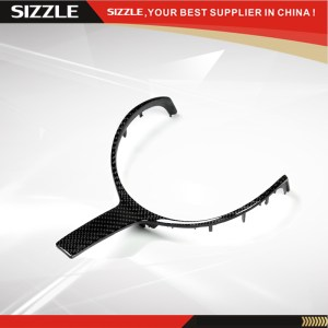 Carbon Fiber Steering Wheel Trim For BMW F20 F22