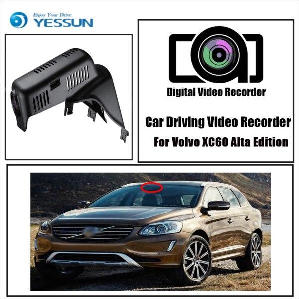YESSUN for Volvo XC60 2012-2014 Alta Edition Car Driving Video Recorder DVR Mini Control APP Wifi Camera Registrator Dash Cam