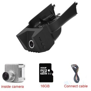 Car DVR Video Recorder Dash Cam Black Box fit for Mercedes Benz GL/M/R/ X164/164/251 with Wide Angle170 degree Night Vision