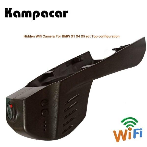 Kampacar Car Wifi Dvr Dash Camera For BMW X1 F48 2016 X3 F25 F10 F30 F36 X4 X5 F15 535i GT 530GT 528 1 3 4 5 7 Series M135i DVRs