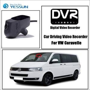 YESSUN for Volkswagen Caravelle Car DVR Driving Video Recorder Mini Control APP Wifi Camera FHD 1080P Registrator Dash Cam