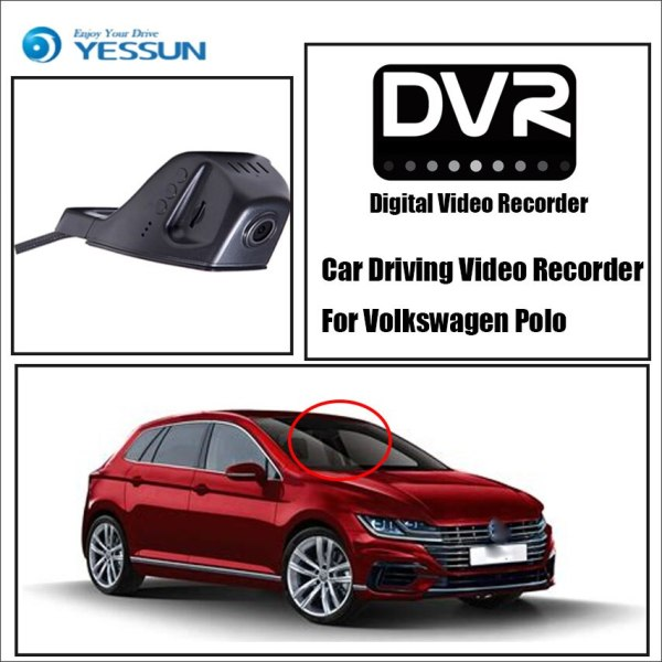Front Camera DVR Digital Video Recorder For Volkswagen Polo