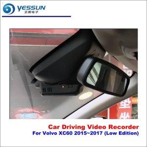 YESSUN Car DVR Camera Driving Video Recorder Dashcam For Volvo XC60 2015-2017 (Low Edition) DVR Camera AUTO Dash CAM