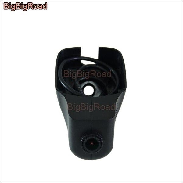 BigBigRoad For Volkswagen Bora / santana / For seat ibiza 2009 2010 2011 2012 2013 Car wifi DVR Video Recorder dash Camera