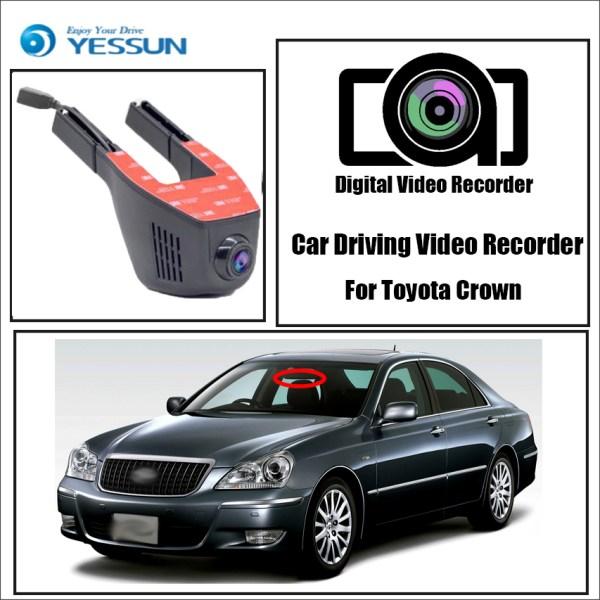 YESSUN for Toyota Crown Car Wifi DVR Mini Camera Driving Video Recorder Novatek 96658 Registrator Dash Cam Night Vision