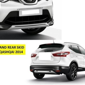Nissan Qashqai J11 2014-2016 Front And Rear Plate Bumper