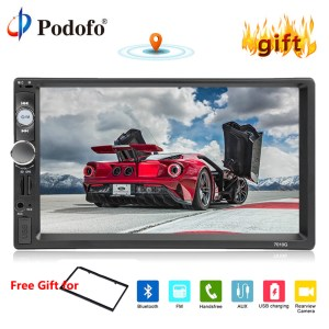 "7"" HD Video MP5 Player Auto Radio Backup Camera"
