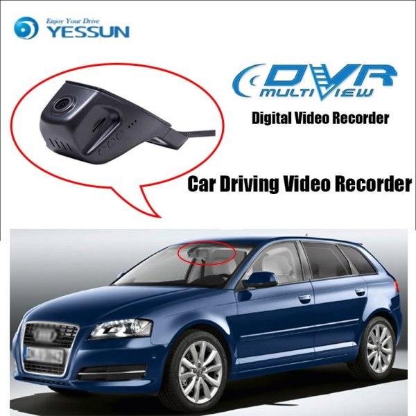 YESSUN for Audi A3 2010 2013 A1 2014 A4L Car Driving Video Recorder DVR Mini Control APP Wifi Camera Registrator Dash Cam