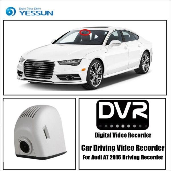 YESSUN for Audi A7 2016 Driving Recorder Car Dvr Mini Wifi Camera Full HD 1080P Car Dash Cam Video Recorder Original Style