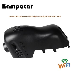 Kampacar Wifi Video Recorder Car Rearview Mirror Mini Dvr Dash Cam Camera For Volkswagen Tuareg 2015 2016 2017 2018 Two Car DVRs