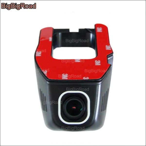 BigBigRoad For Ford IKON Car wifi DVR Driving Video Recorder hidden installation Novatek 96655 Car Dash cam G-sensor