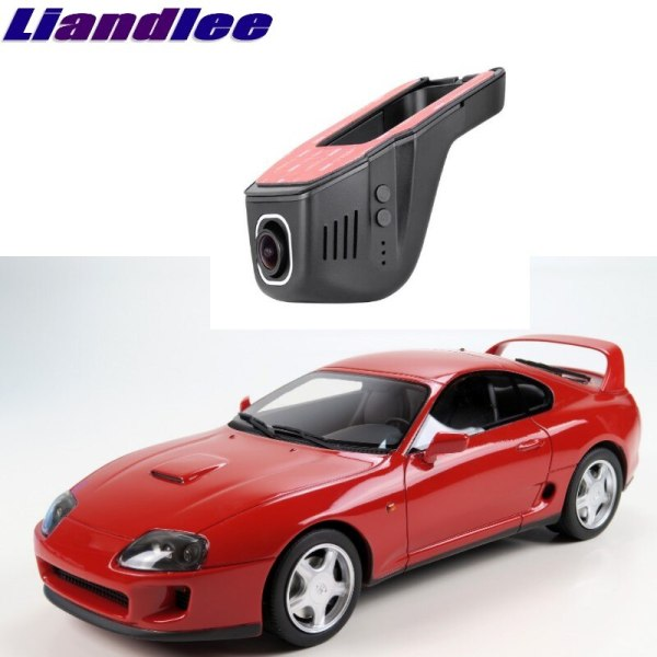 Liandlee For Toyota Supra A80 1993~2002 Car Road Record WiFi DVR Dash Camera Driving Video Recorder