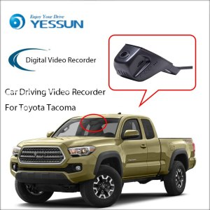 YESSUN Not Reverse Parking Camera Car DVR Digital Video Recorder For Toyota Tacoma - Front Camera Dash HD 1080P