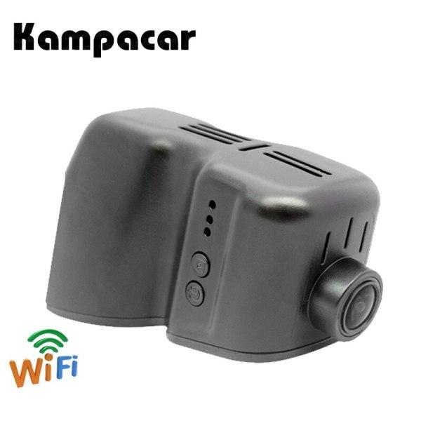 Kampacar Car DVR Dash Cam Registrator Dual Lens 1080P Camera WiFi For Audi Cars A3 A4 A5 A6 Q3 Q5 With Rain Sensor Before 2013