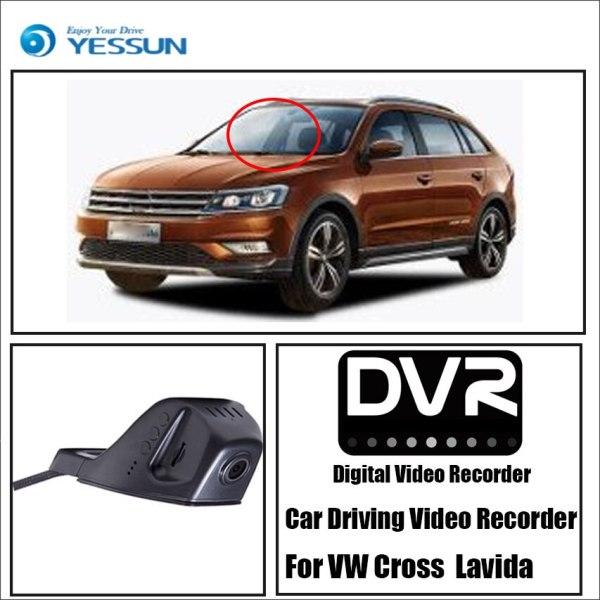YESSUN Not Rear Back Camera Car DVR Driving Video Recorder for Volkswagen Cross Lavida Front Dash Camera HD 1080P