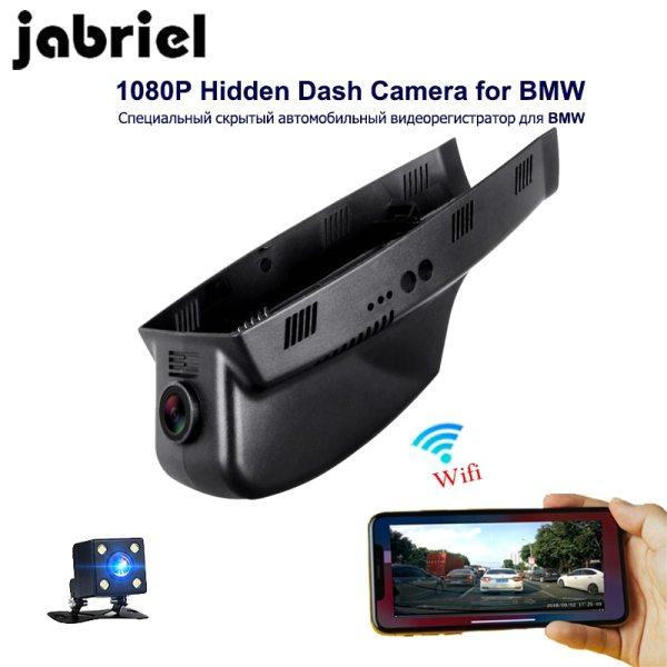Jabriel 1080P Wifi Hidden Car DVR Dash cam Camera Video Recorder for BMW 3/5/7/X3/X5 E46 E60 E90 E70 E71 E81 E83 E84 F01 F10 F20