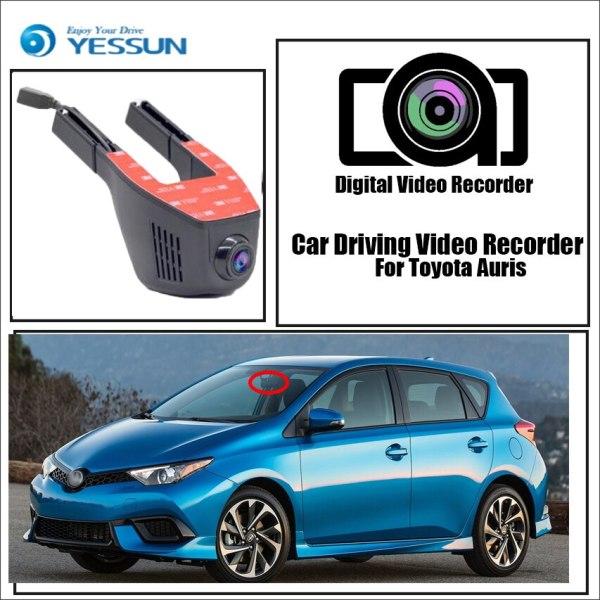 YESSUN for Toyota Auris Car Driving Video Recorder Wifi DVR Mini Camera Novatek 96658 FHD 1080P Dash Cam Night Vision
