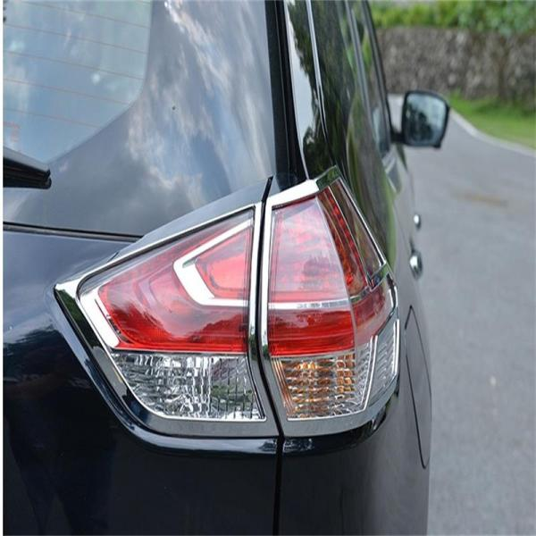 Rear Head Light Lamp Cover Trims Nissan 2014-2017 X-Trial
