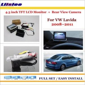 "Volkswagen VW Lavida 2008~2011 Auto Rear View Camera Back Up + 4.3"" LCD Monitor"