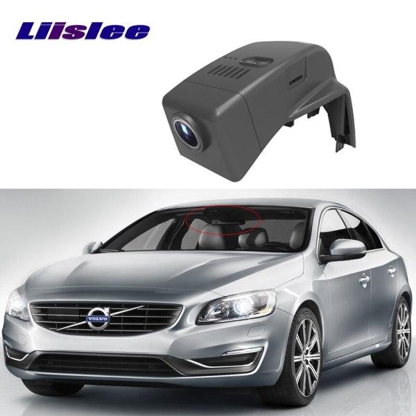 LiisLee for Volvo S60L 2014~2017 Dash Cam Novatek 96655 Sony IMX 322 WiFi 1080P Car DVR Registrator Video Recorder