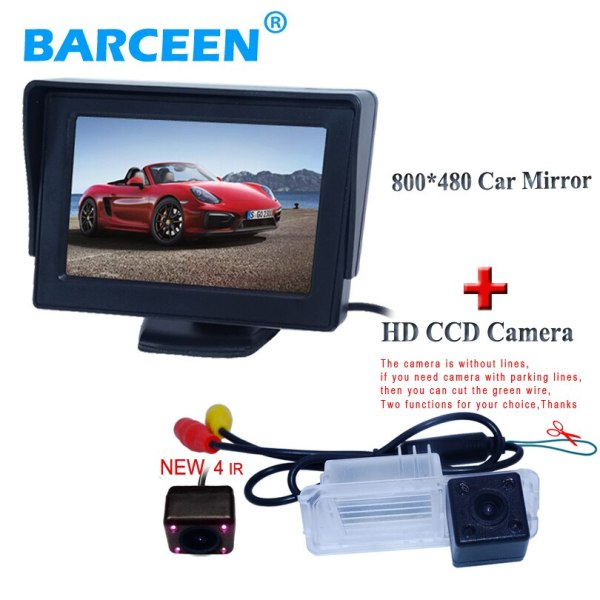 Superior quality product car display monitor with for car parking camera 170 hd ccd lens angle for Volkswagen GOLF 6/Magotan