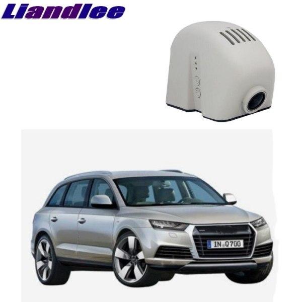 Liandlee For Audi Q3 Q7 4L MK1 2005~2015 Car Road Record WiFi DVR Dash Camera Driving Video Recorder