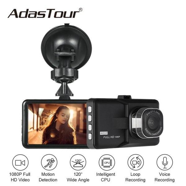 Car DVRs Dash Cam Registrar Night Vision Video Recoder Auto Camera Camcorder for bmw e46 e90 ford focus 2 volkswagen volvo Honda