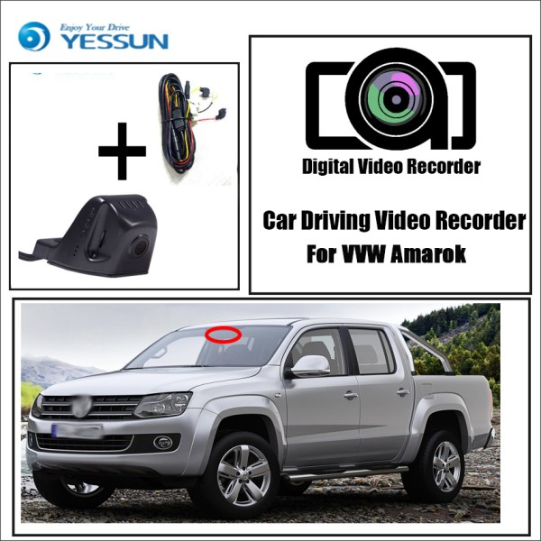 YESSUN for Volkswagen Amarok Car DVR Mini Wifi Camera Driving Video Recorder Novatek 96658 Registrator Dash Cam Night Vision