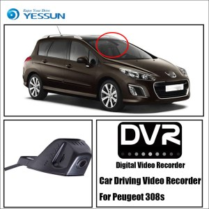 YESSUN Car Front Dash Camera CAM / DVR Driving Video Recorder For Peugeot 308s For iPhone Android APP Control Function