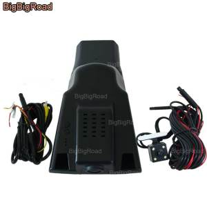 BigBigRoad For Ford Taurus 2015 2016 2017 Car Video Recorder Wifi DVR Dash Cam Dual Cameras Original Style