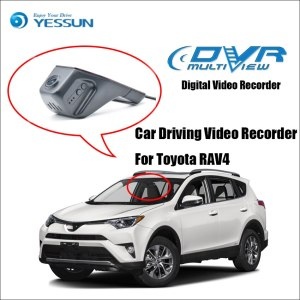 YESSUN For Toyota RAV4 Car Front Dash Camera CAM /DVR Driving Video Recorder - For iPhone Android APP Control Function