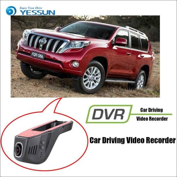 YESSUN for TOYOTA prado Car DVR Driving Video Recorder Mini Control APP Wifi Camera Registrator Dash Cam Night Vision