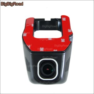 BigBigRoad For Ford Super Duty Car front wifi DVR Driving Video Recorder Dash Cam hidden installation wide angle