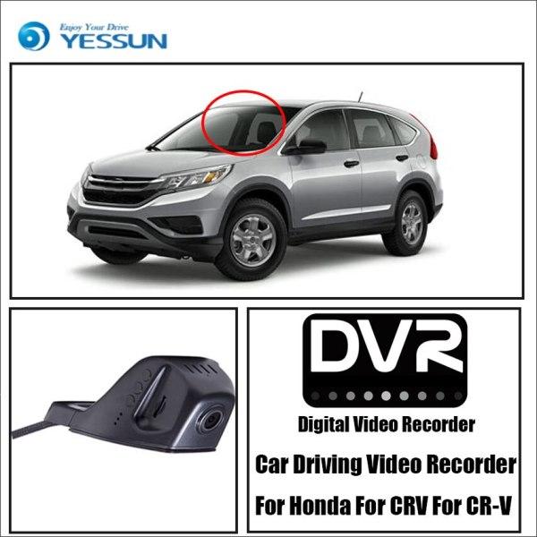 YESSUN HD 1080P Car DVR Digital Driving Video Recorder For Honda For CRV For CR-V - Front Dash Camera Front CAM