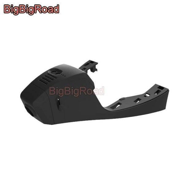 BigBigRoad Car Wifi DVR Video Recorder Dash Cam Camera For Volkswagen Passat 2019 FHD 1080P Wide Angle