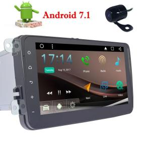 EinCar Android 7.1 Car Video Player for Volkswagen 4 Core in Dash GPS Radio Stereo 8'' Head Unit support Wifi Mirror+Rear Camera