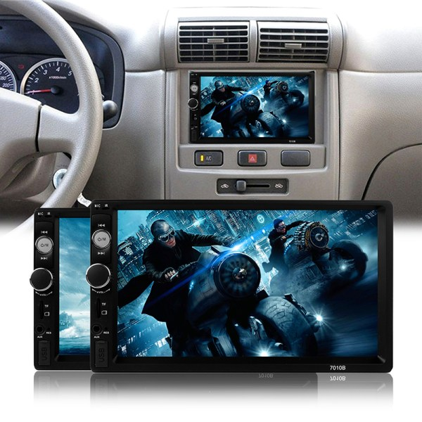 Stereo Video With Rear View Camera Bluetooth