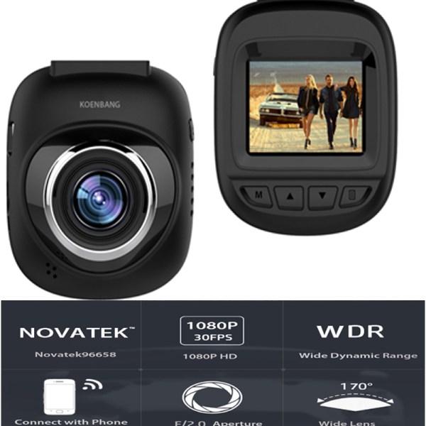 "Dash Camera Cam Digital 1.5"" Monitor Screen for TOYOTA"