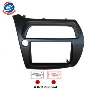 2Din Car DVD Frame Fit for Honda for Civic Left FN Model Dash Kit Audio Kits Fitting Kit Fascia Panel Double Din