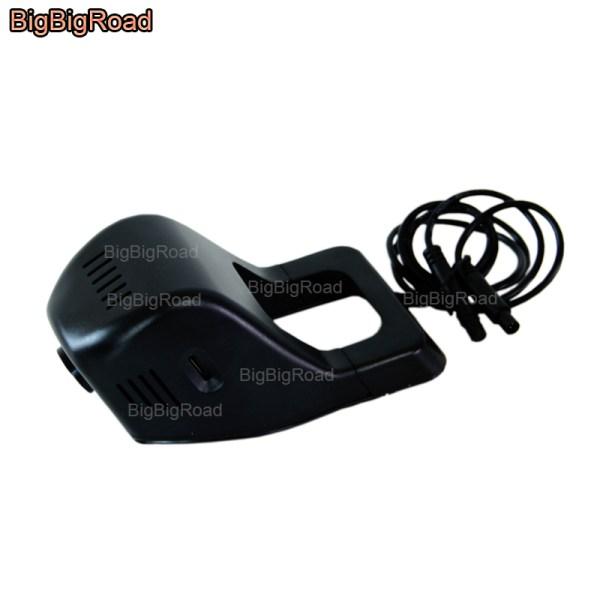 BigBigRoad For volkswagen Passat Gran Lavida santana Jetta mk6 Car Wifi DVR Dual lens Video Recorder Dash Cam