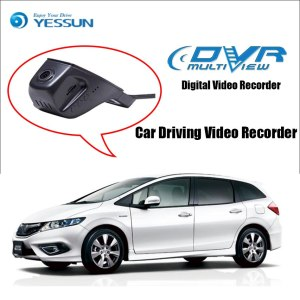 YESSUN for Honda Jade Car DVR Driving Video Recorder Mini Control APP Wifi Camera Registrator Dash Cam Night Vision