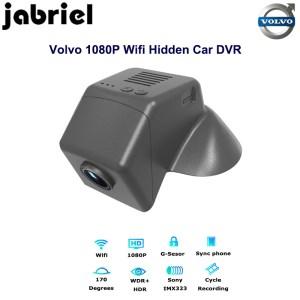Jabriel hidden wifi Auto car dvr for volvo dash cam 1080p video recorder dual lens camera 2015 2016 2017 2018 volov v40 T3 T4 T5