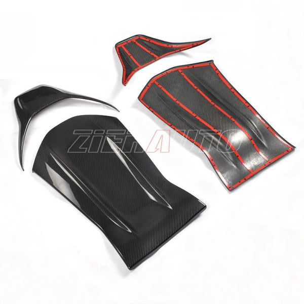 Mercedes-Benz A45 AMG Full/Dry Carbon Fit Seat Back A 45 AMG Carbon Style Stickers