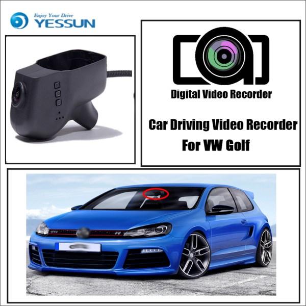 YESSUN for Volkswagen Golf Car DVR Mini Wifi Camera Driving Video Recorder Novatek 96658 Registrator Dash Cam Original Style