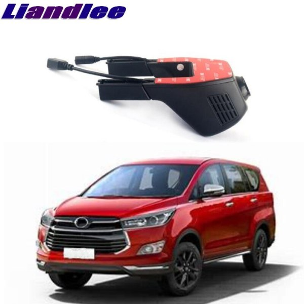 Liandlee For Toyota Innova AN40 AN140 2004~2018 Car Road Record WiFi DVR Dash Camera Driving Video Recorder