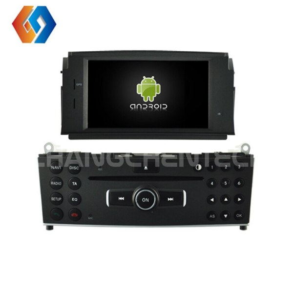 New Android 9.0 In-dash Car GPS Navigation System for Mercedes-BENZ C CLASS W204 with DVD player Built-in WiFi Bluetooth Cam 10