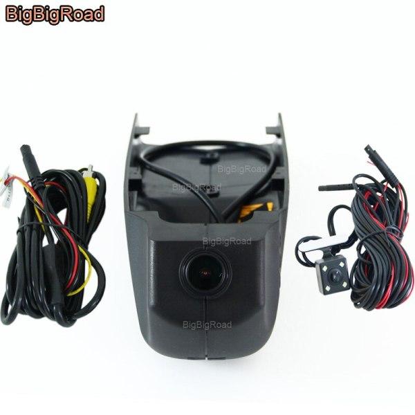 BigBigRoad For BMW X1 X4 X6 X7 X3 e83 f25 X4 f26 GT f34 f07 X5 F15 2018 Car wifi DVR Video Recorder Dash Cam Camera