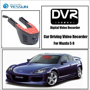 YESSUN for Mazda 5 8 Car Wifi DVR Mini Camera Driving Video Recorder Novatek 96658 Registrator Dash Cam Night Vision