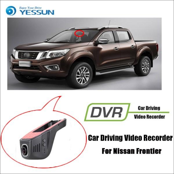 YESSUN for Nissan Frontier Registrator Dash Cam Original Style Car Mini DVR Driving Video Recorder Control Wifi Camera