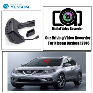YESSUN for Nissan Qashqai 2016 Car Driving Video Recorder DVR Mini Control APP Wifi Camera 1080P Registrator Dash Cam